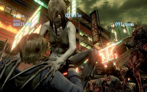 Resident Evil 6 x Left 4 Dead 2 witch