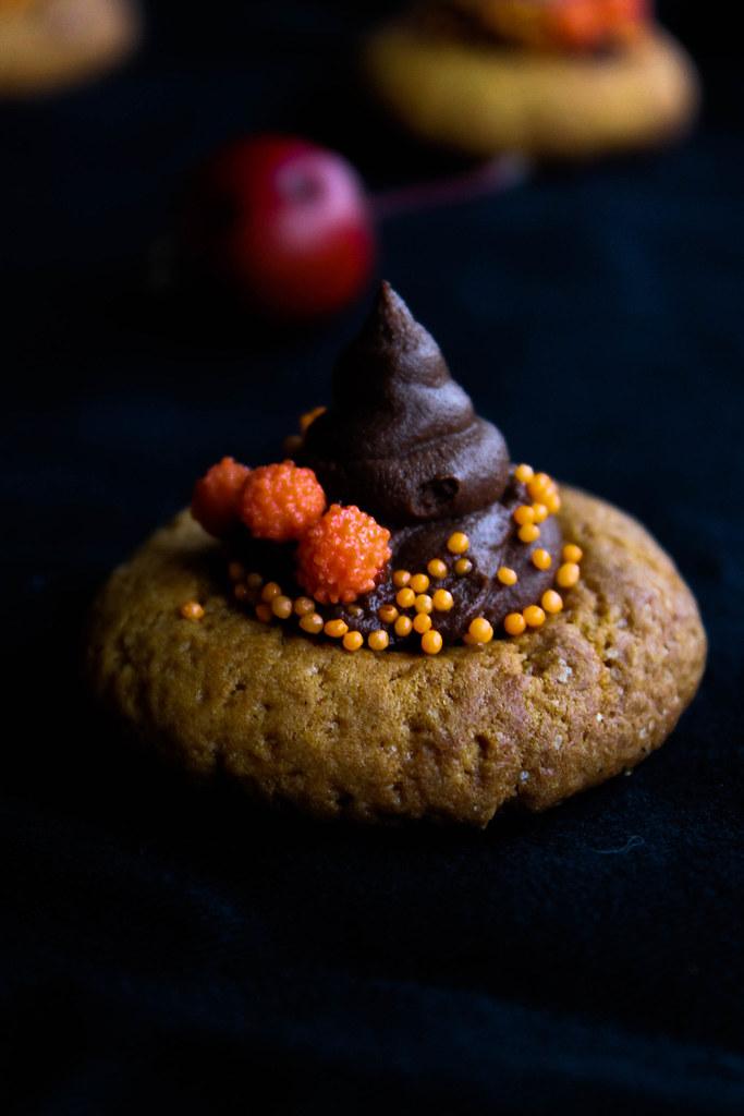 Cookies chapeau de sorcière