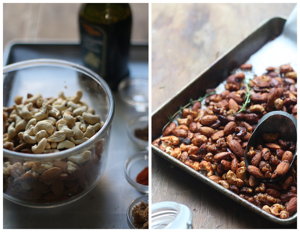 Balsamic Spiced Mixed Nuts - Vegan