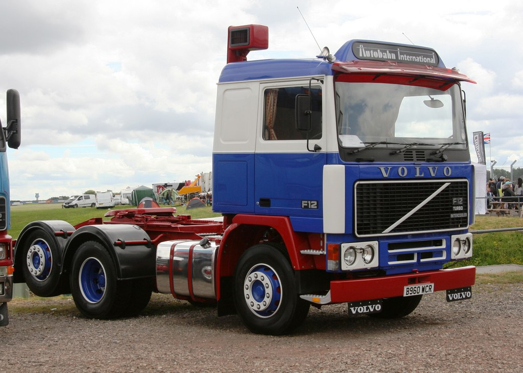 B960wcr Volvo F12 Tidy Mk2 Cabbed F12 At Donnington