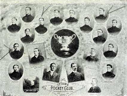 1899 Ottawa Hockey Club team