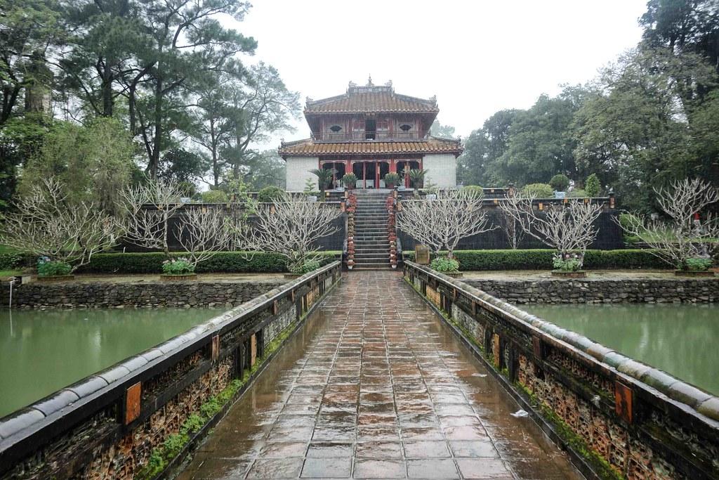Hue - Tombeau Minh Mang 4