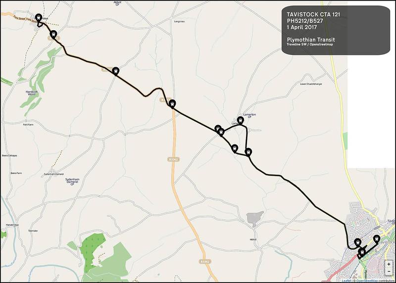 Tavistock CTA Route-121
