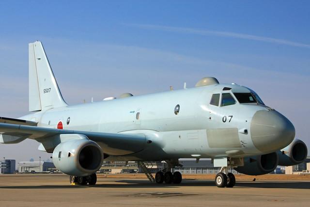 P-1対潜哨戒機 5507号機 IMG_4610_2