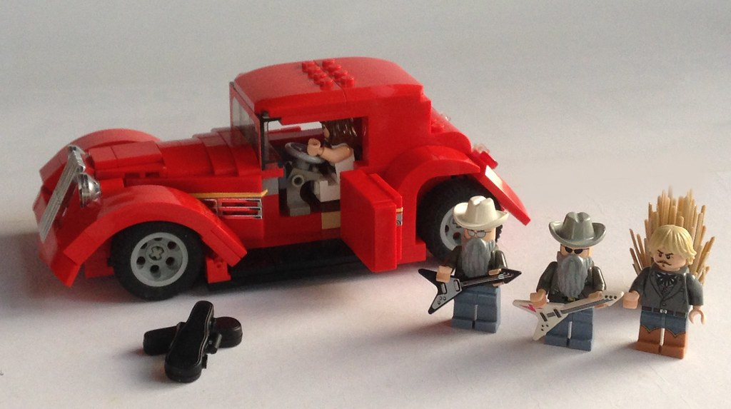 ZZ Top Eliminator Hot Rod LEGO MOC | made for fbtb.net\'s 198… | Flickr