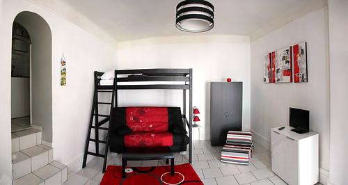 g te lumineux et confortable avec une belle hauteur sous p flickr. Black Bedroom Furniture Sets. Home Design Ideas