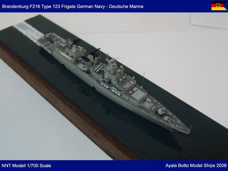 Frégate FGS Brandenburg F215 Type F123 Marine Allemande, NNT Modell 1/700 23101576703_6c3103fb74_c