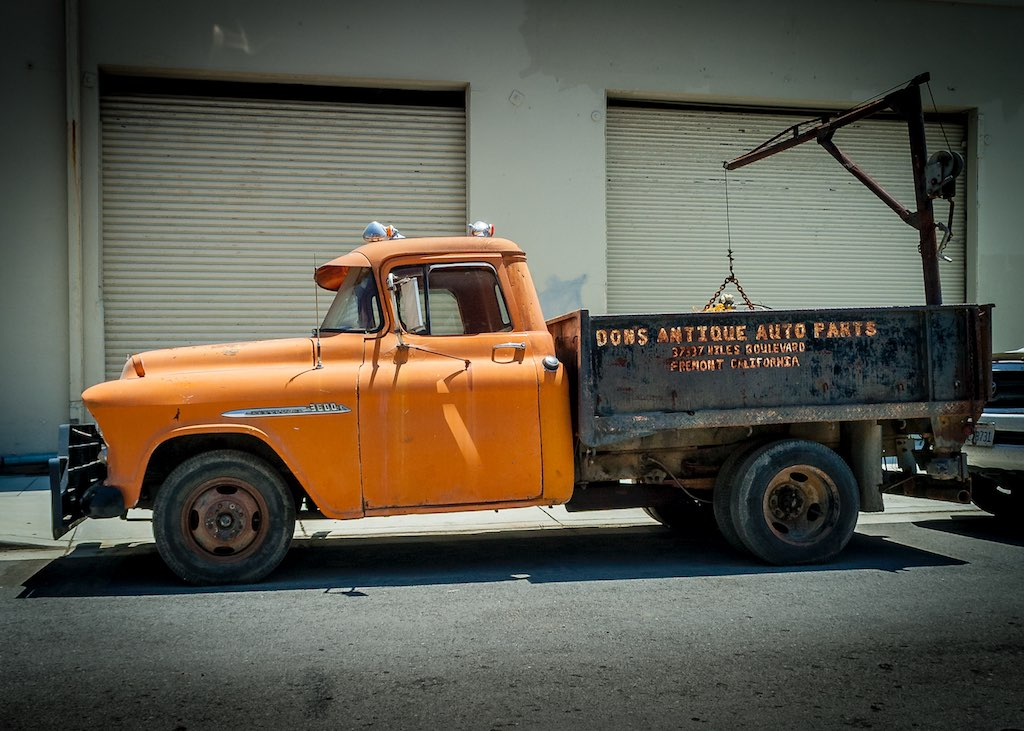 Don\'s Antique Auto Parts Pickup | Charlie Day | Flickr