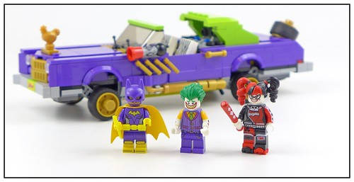 The LEGO Batman Movie 70906 The Joker Notorious Lowrider figures02