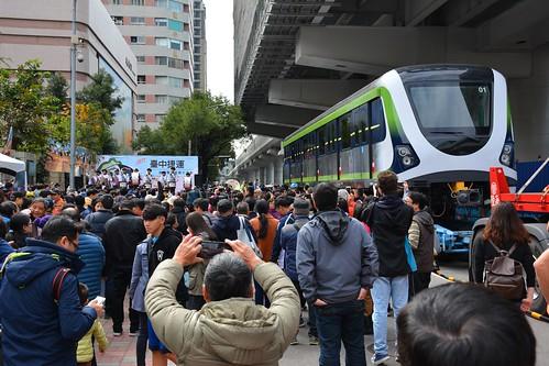 台中捷運綠線電車:遊行