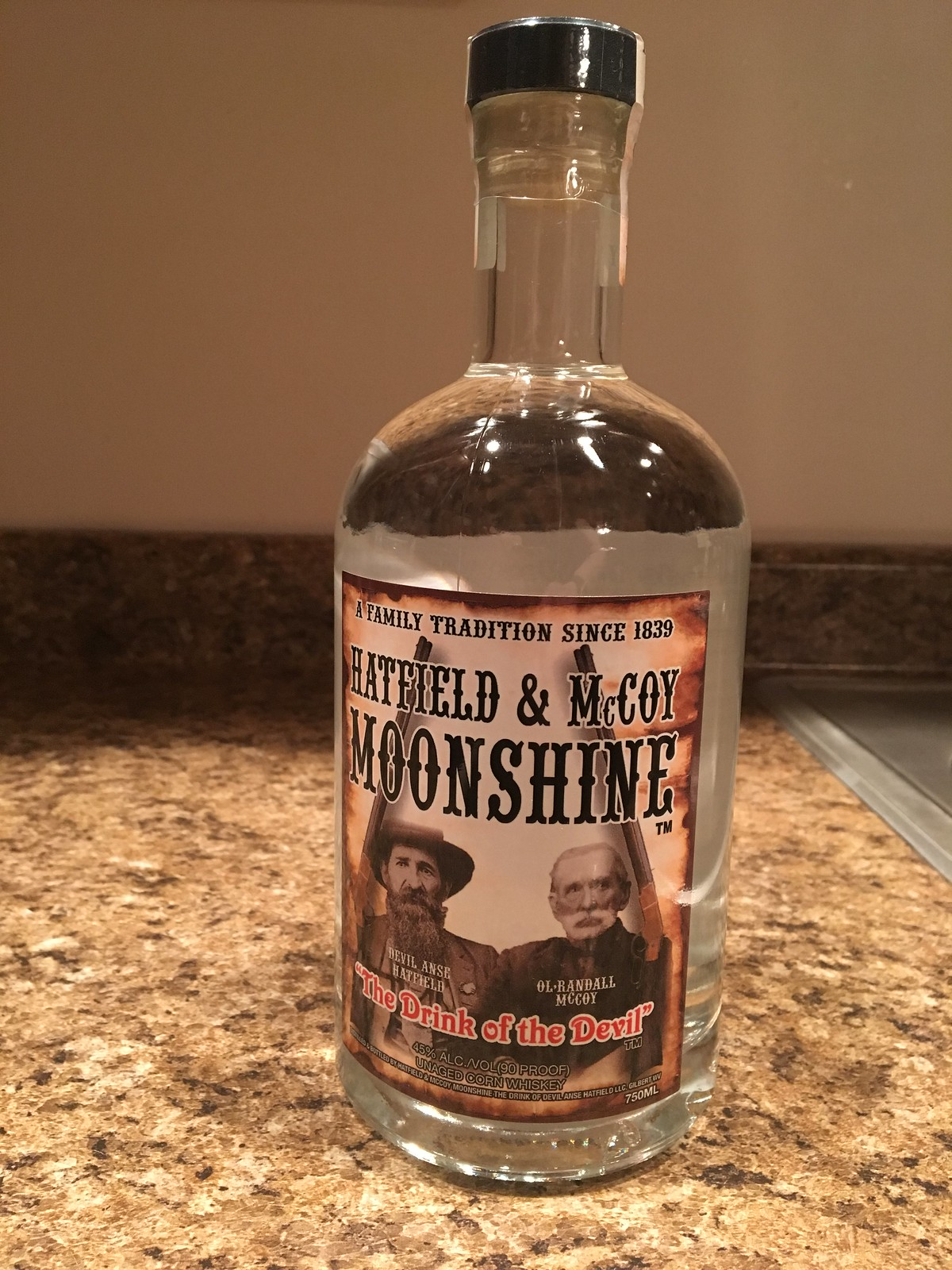 Hatfield McCoy Moonshine