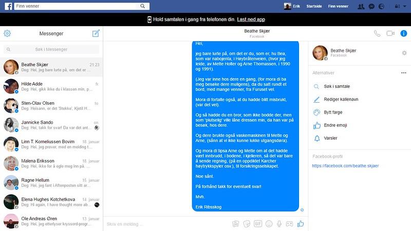 facebook bea melding hm