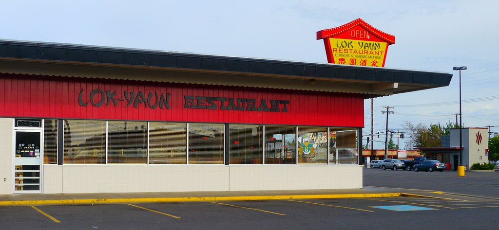 Lok Yaun Chinese Restaurant In Eugene Oregon Lok Yaun Chi Flickr