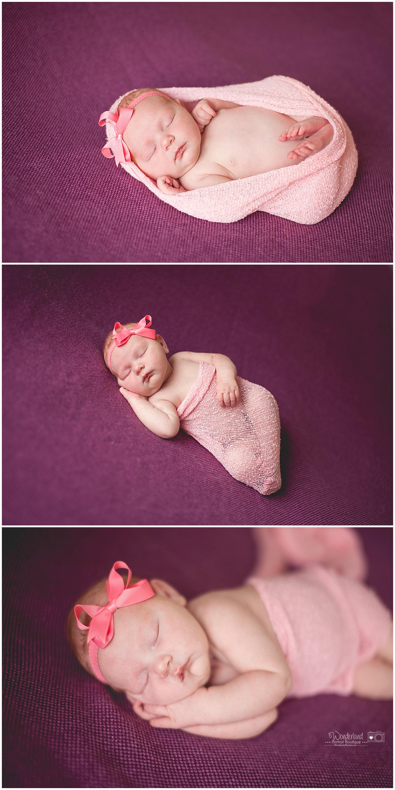 Abington PA Newborn Photography | WonderlandPortrait.com
