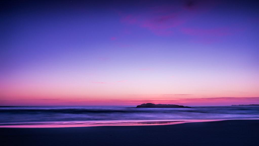 purple and blue ocean view tommy høyland flickr