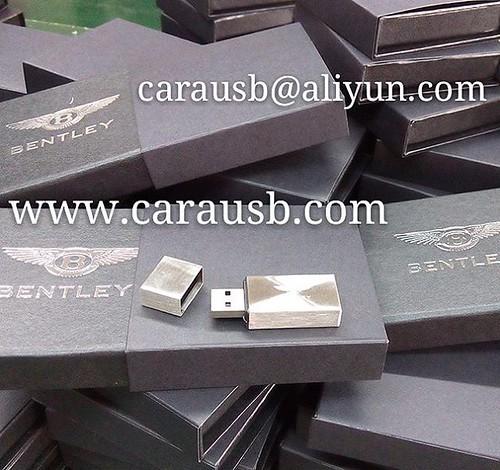 Bentley Car Theme Promotional Usb Flash Disk, Laser Engrav