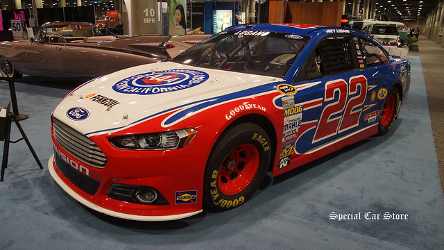 Joey Logano Ford Fusion