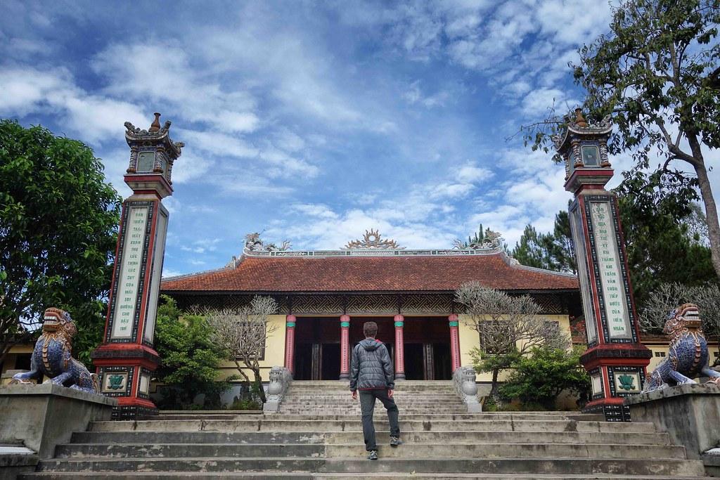 Dalat - Pagode Linh Son