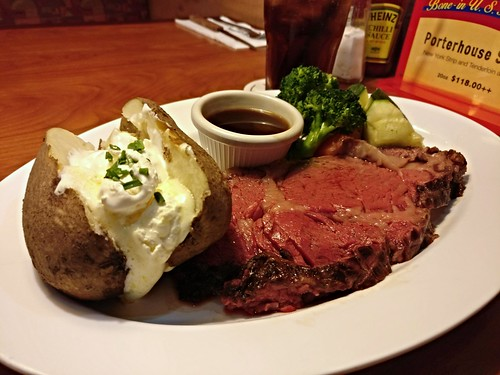 5oz Prime Rib Lunch Set