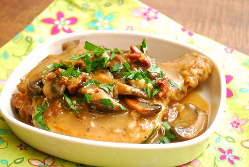 Instant Pot: Smothered Pork Chops with Mushroom Gravy