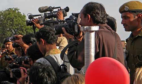 Jaipur Elephant Festival: the 'Press'