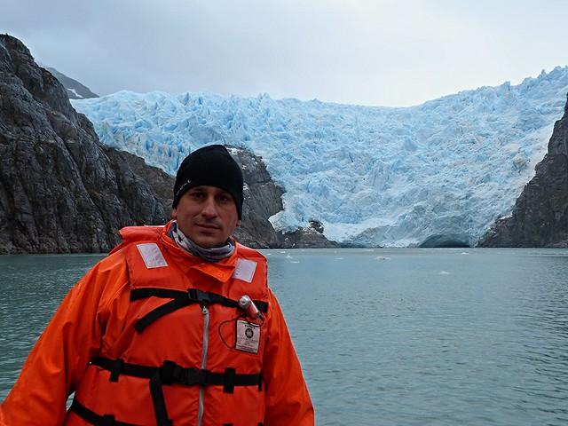 Sele en el glaciar de Santa Inés (Patagonia chilena)