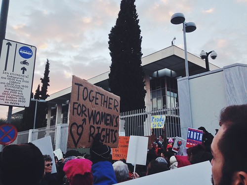 Women's March, Athens