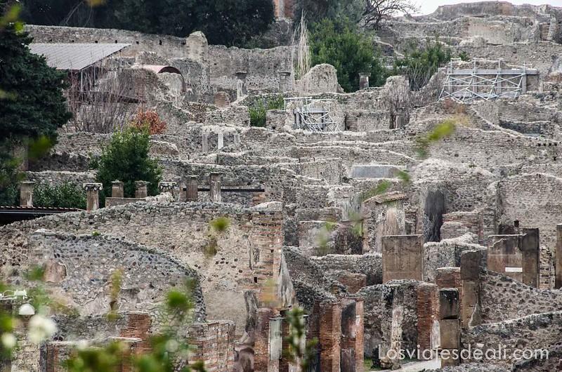 panorámica visita a Pompeya