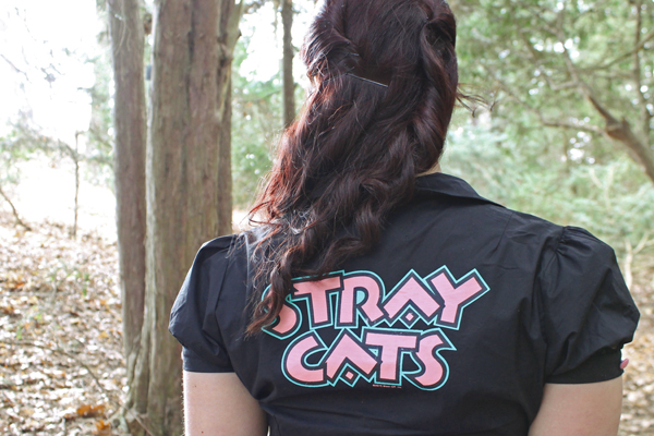 stray cats top sourpuss clothing