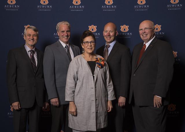 Pictured, from left, are Robert Boyd, Dan LaRocque, Barb Struempler, Richard Hansen andTimothy Boosinger.