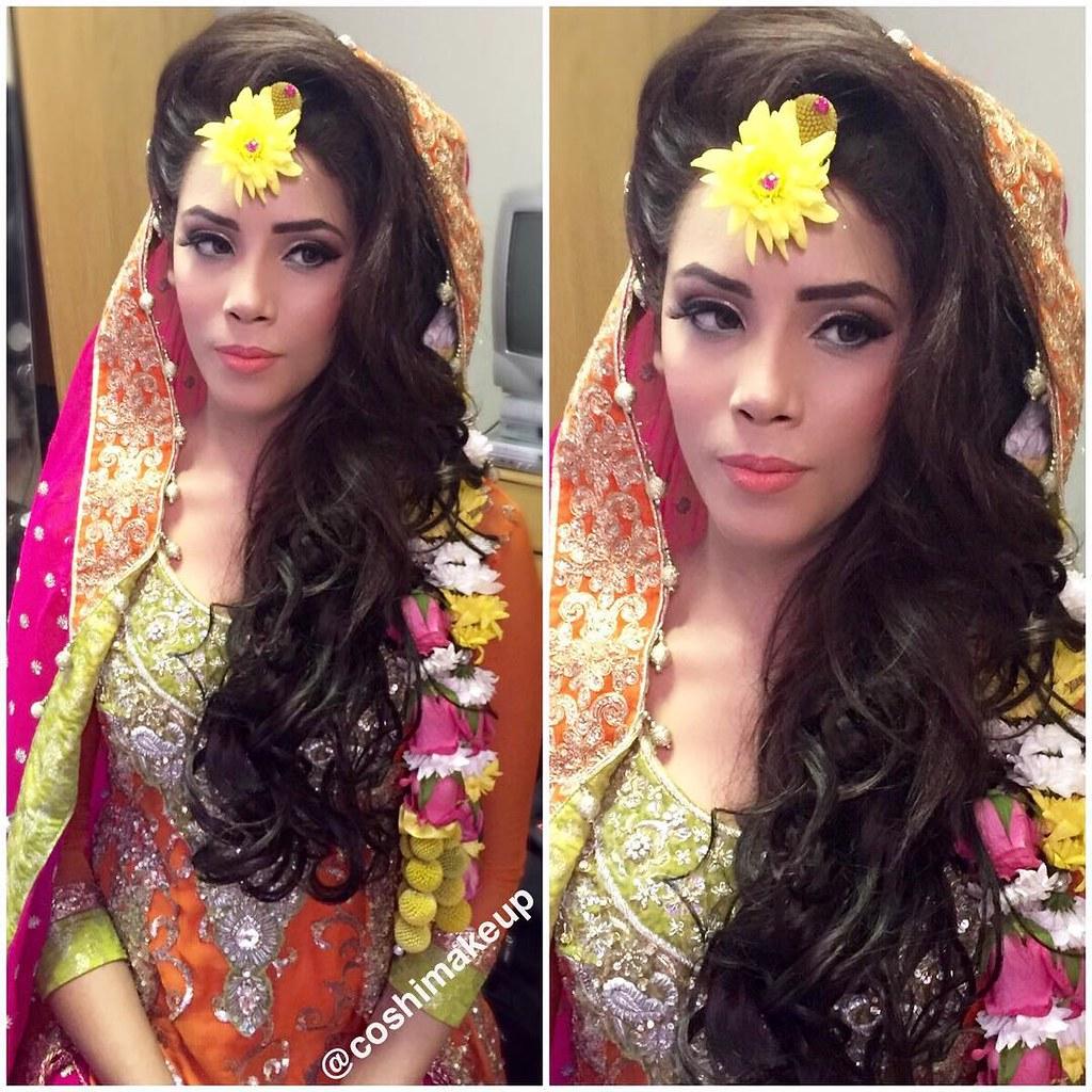 Real Mehndi Makeover Mehndi Bridal Hair And Makeup Flickr