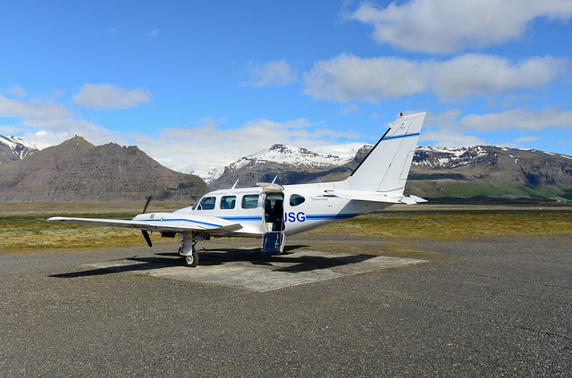 Vuelo en avioneta por Islandia