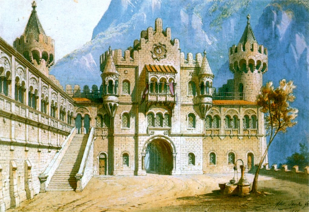 II-Schloß Neuschwanstein - Arc...