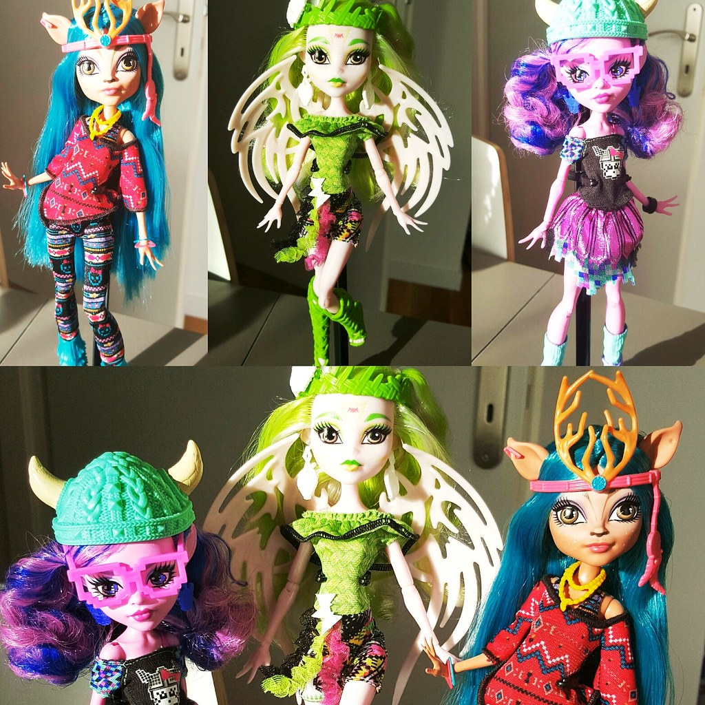 The teenage children of the legendary monster menaces have gathered together under one roof to attend high school at Monster High!These ghouls left their parents' haunting habits behind to create their own killer style.