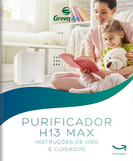 Manual do Purificador de Ar Green Air H13 MAX