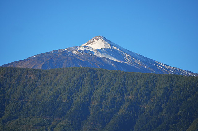 Snow on Mount Teide, Tenerife