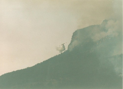 French Alps Wildfire Summer 2003 | by Alex and Dee
