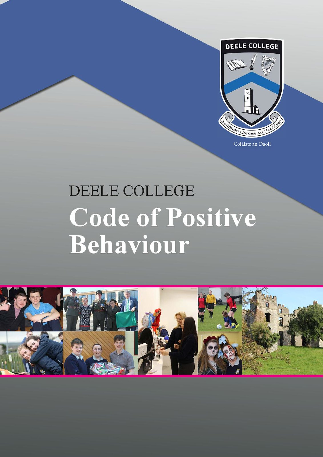 Deele College Code of Positive Behaviour Booklet 2016-page-001