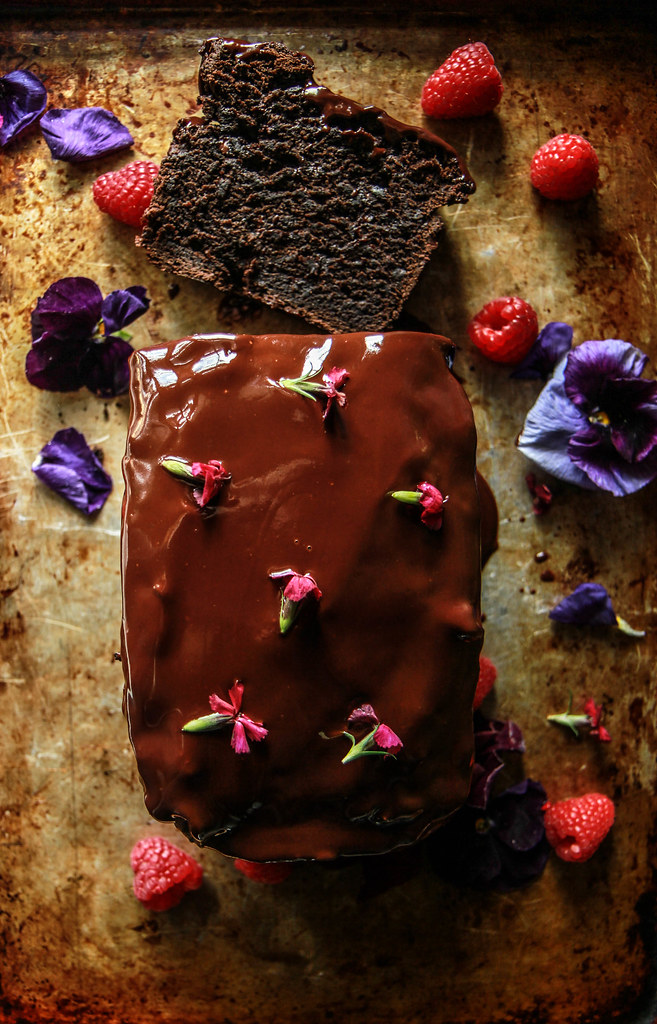Triple Chocolate Avocado Bread- Gluten Free and Vegan from HeatherChristo.com
