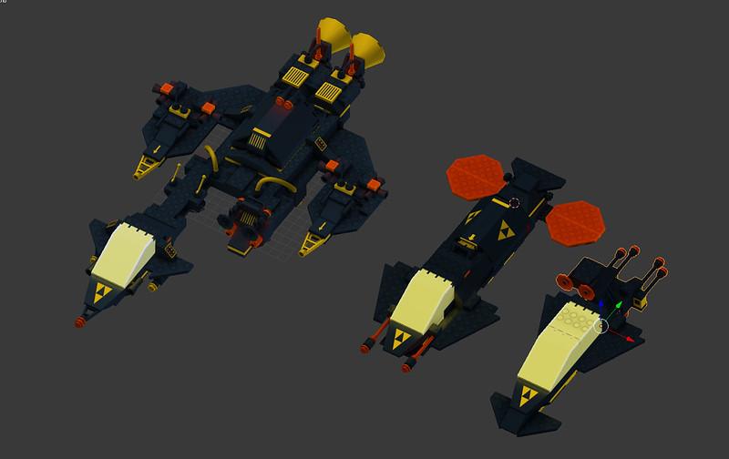 Blacktron Fleet