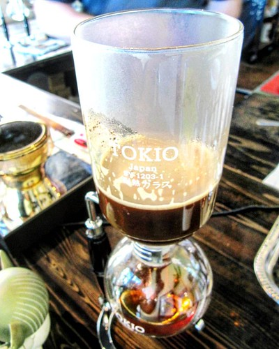 It's a great day for siphon coffee.