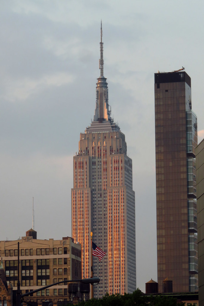 empire state building sunset - photo #37
