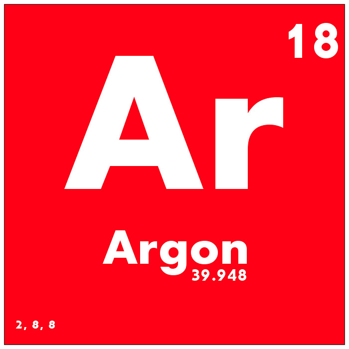 018 Argon - Periodic Table of Elements | Watch Study Guide ...