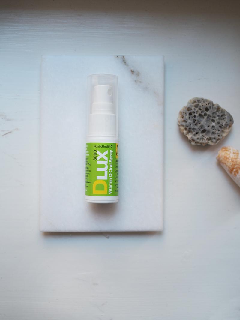 Nordic Health D LUX suihkutettava d-vitamiini