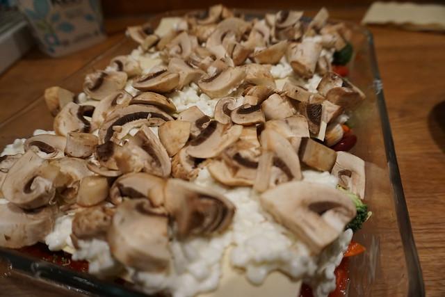 Vegetarisk lasagne alá vad som finns i kylskåpet - 3