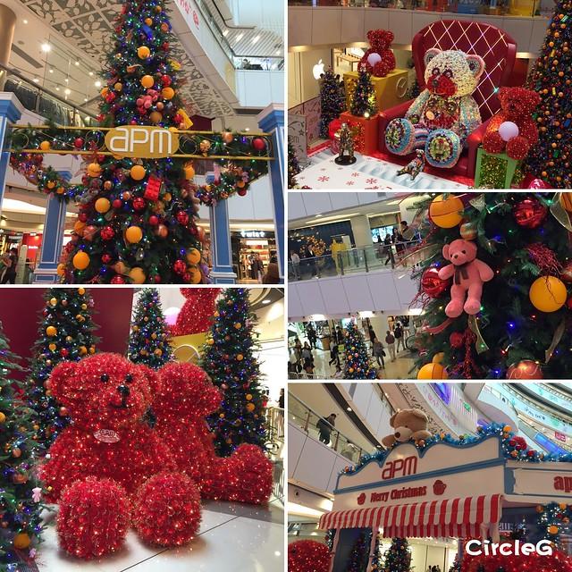 CIRCLEG 香港 觀塘 APM KWUN TONG 草莓熊 2016聖誕 遊記 聖誕 2016 聖誕爆熊王國