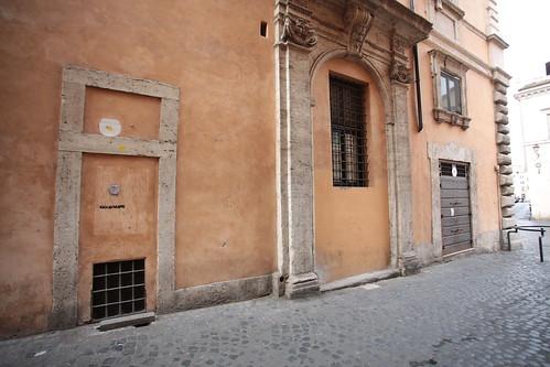 Porta murata, via della Reginella