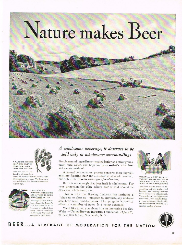 Nature-Makes-Beer-Paper-Ads-United-Brewers-Industrial-Foundation