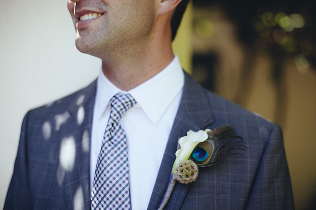 WG Well-Groomed Groom LD Boutonniere