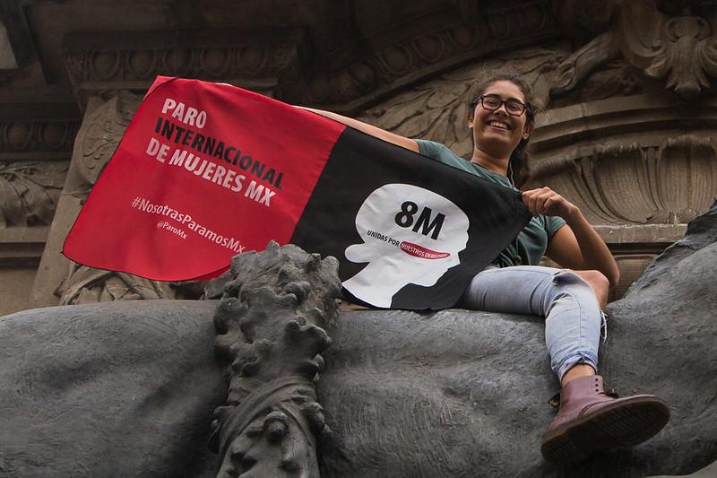 8M Paro Internacional de Mujeres #NosotrasParamosMX
